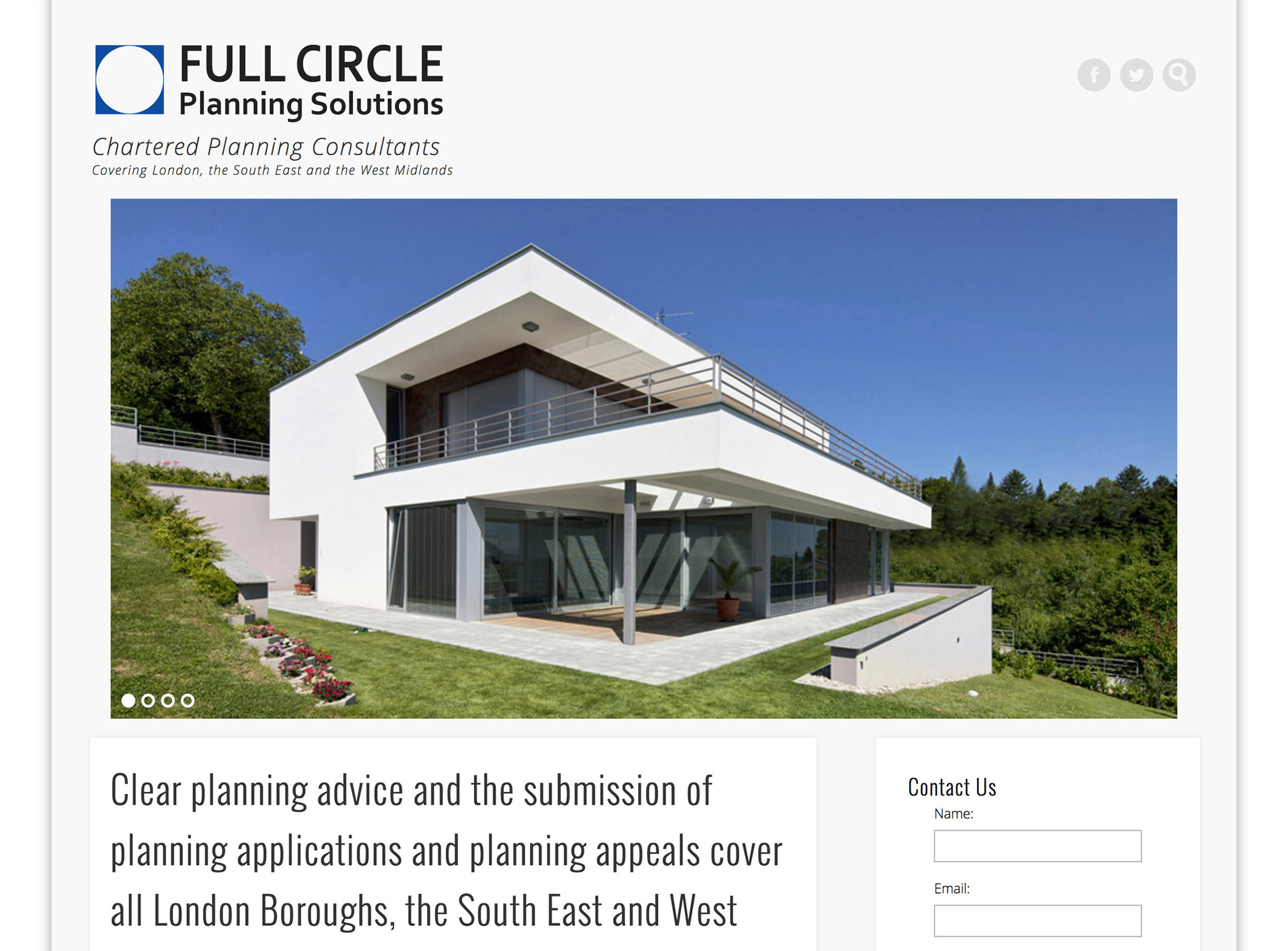 Full Circle Planning Solutions Chartered Planning